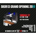 28 august: Fatstone TV sender LIVE fra Skur 13 Grand Opening