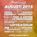 Akustikt i Rotsunda Strand Augusti 2015 - den lilla musikterrassen med de stora musikaliska upplevelserna