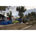 Morialägret på Lesbos: många måste bo i sommartält under vintern.