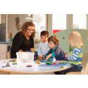 Stor brist på utbildad personal i förskolan