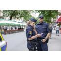 Rekordmånga akuta polisärenden i Östergötlands län under augusti