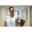 Grattis Christoffer Björkman! Inets tolfte vinnare av Suverän Service