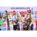 Laguttak og pressetreff - verdenscupfinalen i Holmenkollen