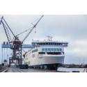 Færdiggørelsen af Scandlines' anden nye hybridfærge M/F Copenhagen