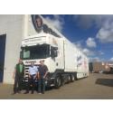Bæredygtig Scania-model med ekstra lav skammelhøjde til SPF