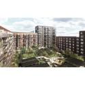 Skanska säljer bostadsprojekt i Köpenhamn, Danmark, för DKK 880M, cirka 1,1 miljarder kronor