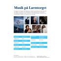 Musik på Larmtorget 2015