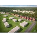 Säljstart för 24 nya hus på Hällbacken i Luleå