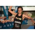 Gabriel Sandör, svensk mästare på Olympisk distans 2016
