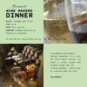 Brasseriet Wine Makers Dinner