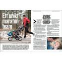 Reportage om Team Nordmark i tidningen Runners World (nr.5)