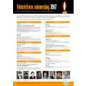 Detaljerad information om program för Förintelsens minnesdag