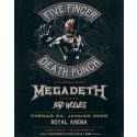 Five Finger Death Punch teamer op med Megadeth i Royal Arena 24. januar