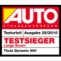 Double award for the Thule Group in big German roof box test