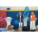 Vilka föreläsare! För hälsan i Almedalen, tre superseminarier!