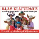 Musikalen Klas Klättermus åter i Malmö