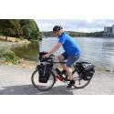 Kristian på cykel