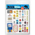 BrickStix – avtagbara, återanvändbara dekaler till ditt Lego®