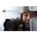 Sony lanceert α-Universe in de Benelux