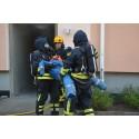 Bostadsbolag satsar på säkerhet – genomför realistisk brandövning