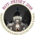 ROT-priset 2018 - Hedersomnämnande: Gustaf Vasa kyrka