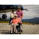 100-åring tog FunäsGondolen till toppen
