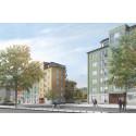 Svenska Bostäder bygger 108 lägenheter i Hässelby