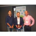 NTEX utsedd till bästa partner – fick prestigefylld utmärkelse