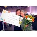 2014 års vinnare av Local EAT Award gratuleras av Petter Stordalen.