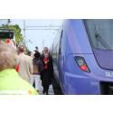 Tågresandet ökar i Skåne men gränskontrollerna begränsar takten