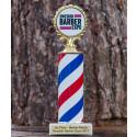 Årets barberare 2017 vinner denna snygga pokal!