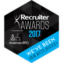 The Finegreen Group shortlisted as a finalist for Best Public Sector Recruitment Agency at the Recruiter Awards 2017!