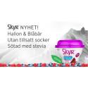 Nyhet! SkyrTM – Helt utan tillsatt socker, sötad med stevia!