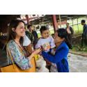 Prinsesse Marie netop hjemvendt fra Myanmar
