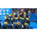 Halmstads idrottshjältar hyllas på Stora Torg