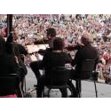 Norrköpings Symfoniorkester goes EDM på Bråvalla - utan maskiner.