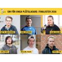 """Sex finalisterna klara till """"SM för unga plåtslagare 2016""""!"""