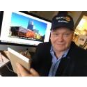 200 Rotarymedlemmar i keps frågar allmänheten på stan vad de vet om Rotary