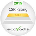 Guldmedalj till TCS i EcoVadis globala CSR-mätning