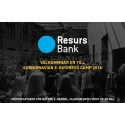 Resurs Bank ny guldpartner till Scandinavian E-business Camp (SEBC)