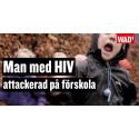 MAN med HIV attackerad på förskola - World AIDS Day kampanj 2018