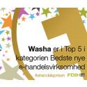 Washa blandt Danmarks 5 bedste nye E-handelsvirksomheder