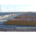 Hangon Satama Oy on vastaanottanut uuden peruskorjatun laiturin (KOV 1) Koverharin satamassa