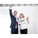 Operation Smile får utökat stöd från Svenska PostkodLotteriet