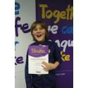 Young Hampshire stroke survivor receives regional recognition