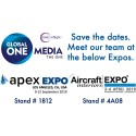 Meet Global ONE Media team at AIX Hamburg and APEX Los Angeles