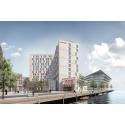 Skanska investerar DKK 566M, cirka 730 miljoner kronor, i ett nytt hotellprojekt i Köpenhamn, Danmark