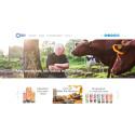 Ny hemsida visar allt om djuren, naturen och bönderna