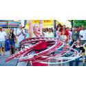 Sommarlund: cirkuskavalkad på Stortorget