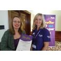 Waterlooville stroke survivor receives regional recognition